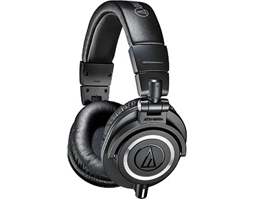 Audio Technica ATH M50x Over ear Headphones