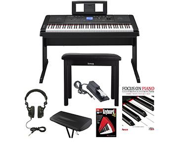 Yamaha DGX 660 88 Key Graded Hammer Action Digital Piano