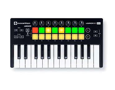 Novation Launchkey mini 25 note usb keyboard controller