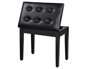 Songmics Padded Wooden Piano Bench Stool