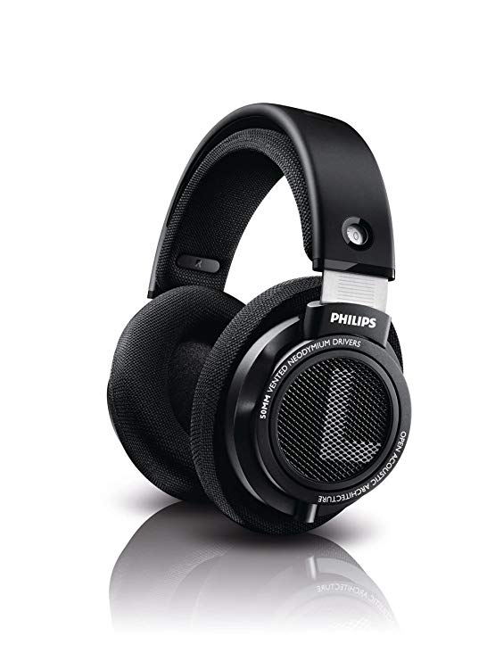 Philips SHP9500S HiFi Precision Stereo Over-ear Headphones