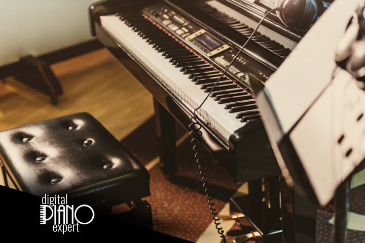 digital piano studio