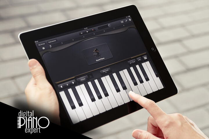 how to record digital piano the right way digital piano expert. Black Bedroom Furniture Sets. Home Design Ideas