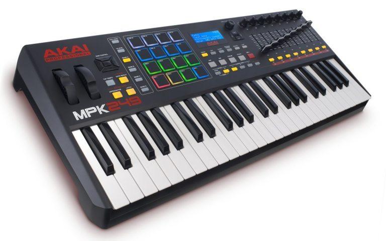 Akai Professional MPK249 49-Key USB MIDI Keyboard & Drum Pad Controller