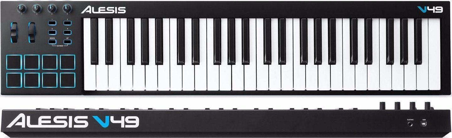 Alesis V49 USB MIDI Controller keyboard