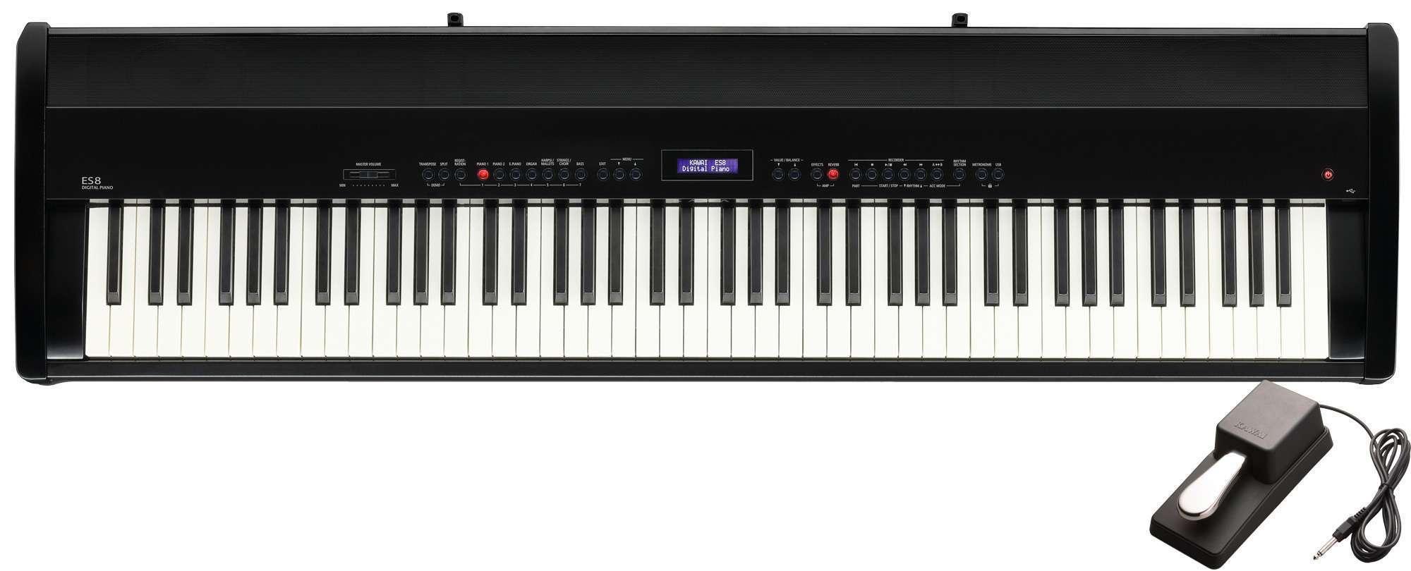Kawai ES8 Black Digital Piano